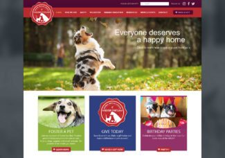 Website Launch: Animal Refuge League of Greater Portland