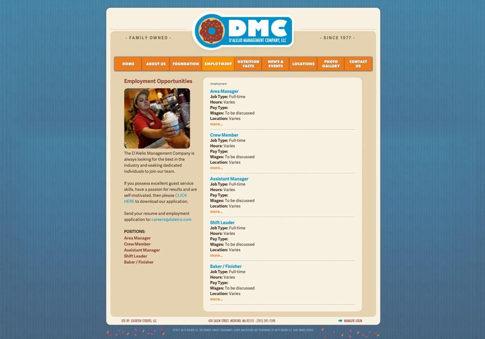 D'Alelio Management Company: A Maine Website Design by SlickFish Studios