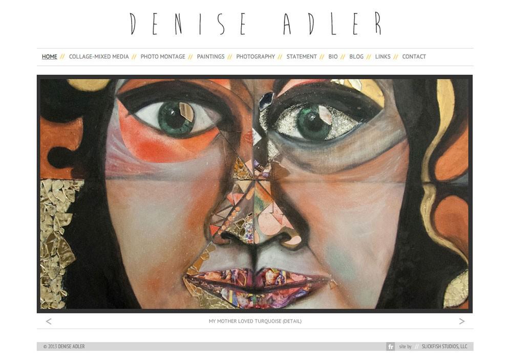 Denise Adler: A Maine Website Design by SlickFish Studios