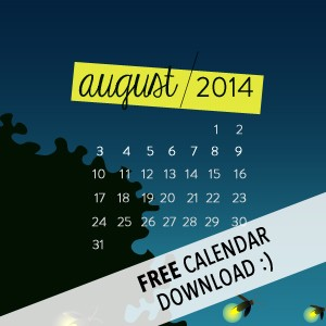 Aug '14 Free Desktop Wallpaper