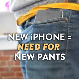 iPhone 6 Wardrobe Adjustments