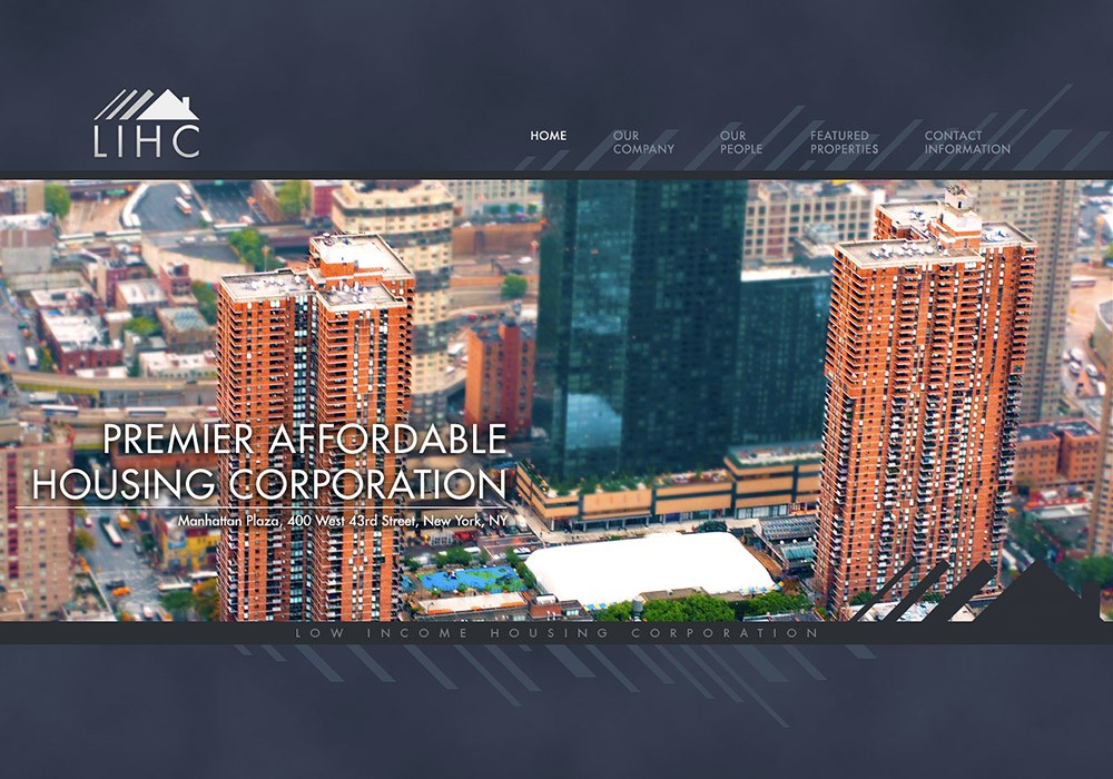 LIHC: Low Income Housing Corporation, A Maine Website Design by SlickFish Studios