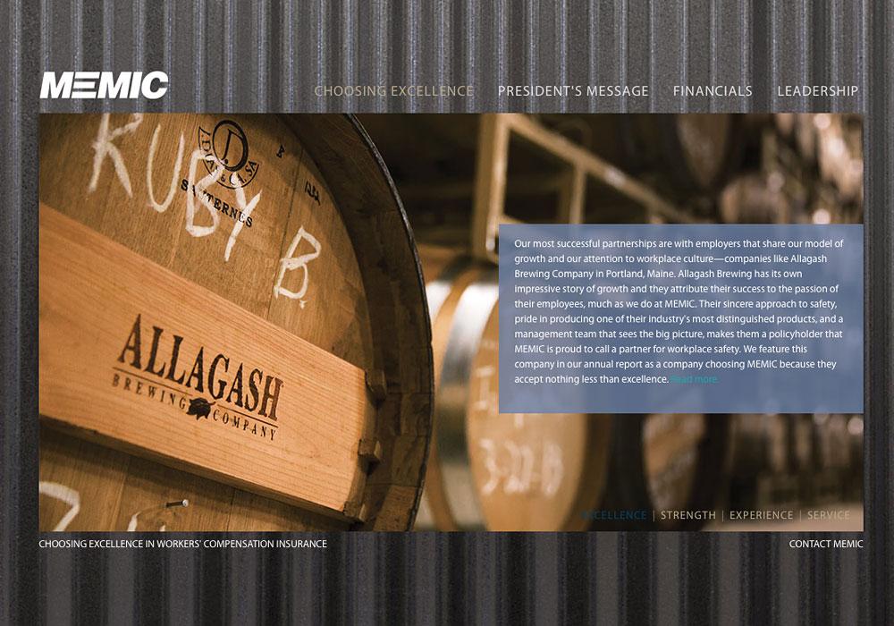 A Maine Website Design by SlickFish Studios
