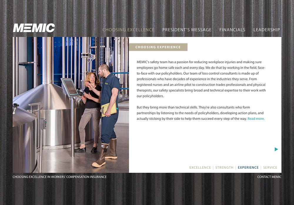 The 2013 Annual Report for MEMIC by SlickFish Studios