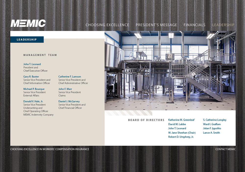 MEMIC's 2013 Annual Report by SlickFish