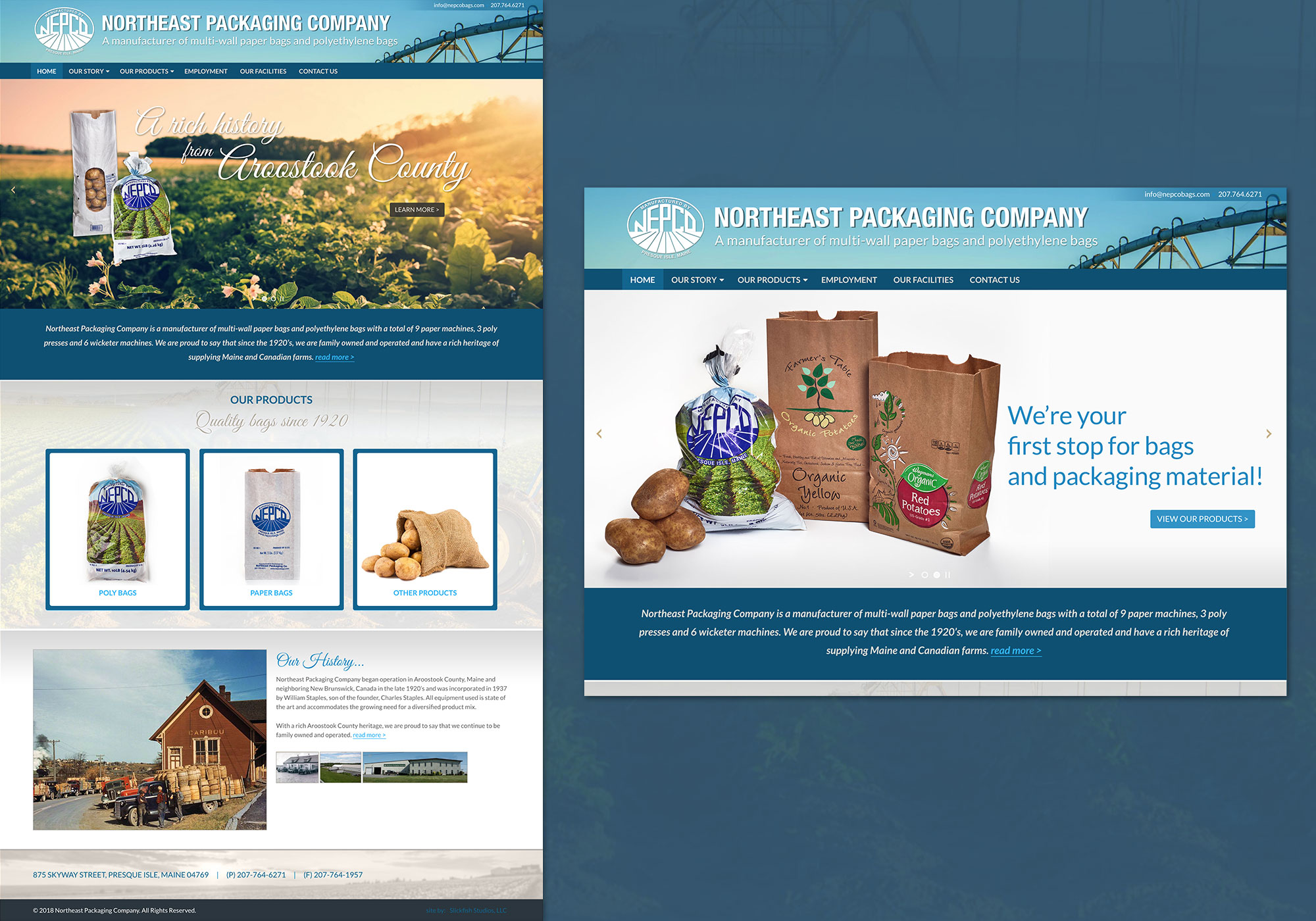 Northeast Packaging Company - Slickfish Studios