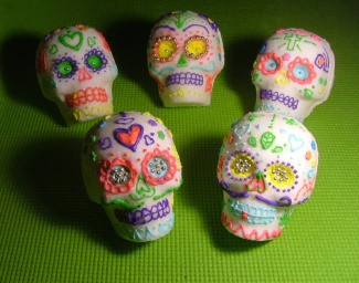 Authentic Sugar Skulls